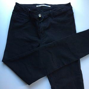 black Zara denim